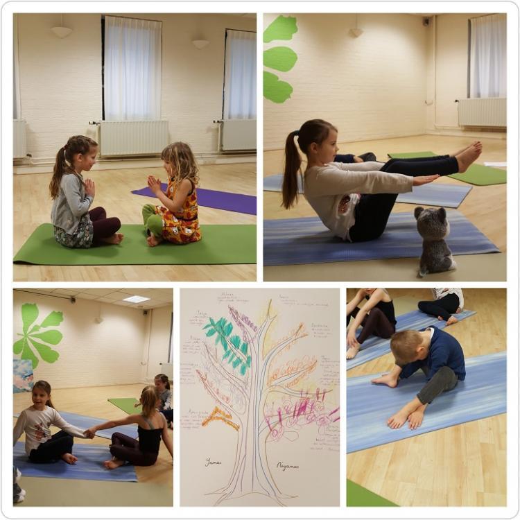 Kinderyoga bij Anna Yoga Centrum Arnhem